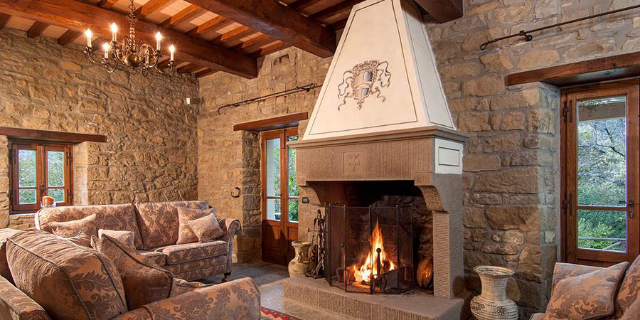 Luxury Tuscany villas for 10 with pool, the Casentino Valley, Arezzo