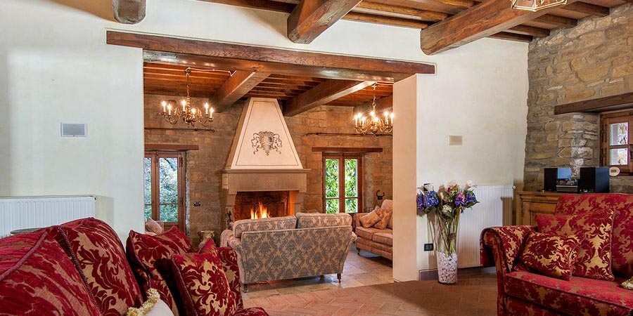 5 star Tuscany villa near Arezzo with pool